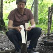 Whittling a Spatula Using Battoning